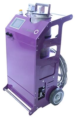 Saneamiento de bajante fibrocemento, máquina